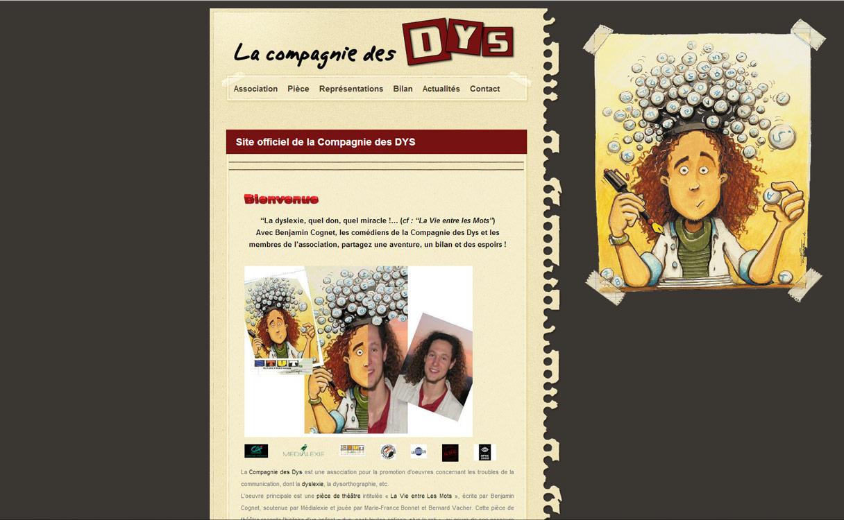 site internet compagnie des dys