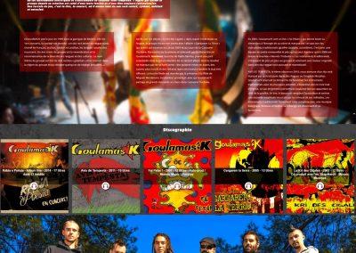 Page dédiée à goulamas'k