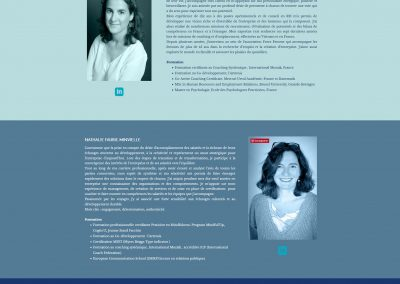 Site web coachinf - formation conseil