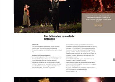 """Page """"La nuit des Camisards"""""""