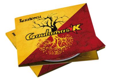 illustration d'album pour Goulamas'K