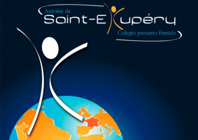 Logo collège Antoine de Saint-Exupéry