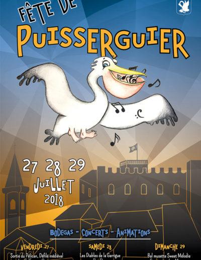 Affiche fête du pelican