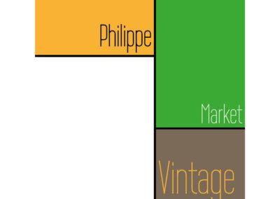 LogoPhilippe Market vintage