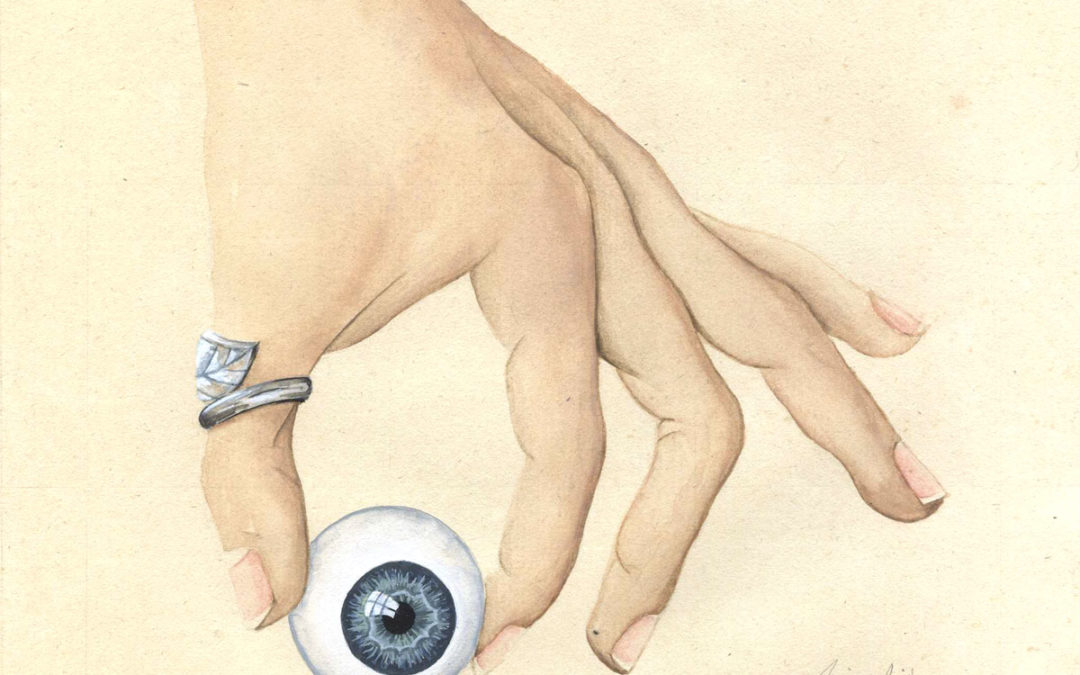 Entre 4 yeux - I | 2020 15 x 15 cm