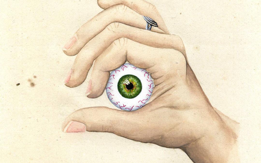 Entre 4 yeux - II | 2020 15 x 15 cm