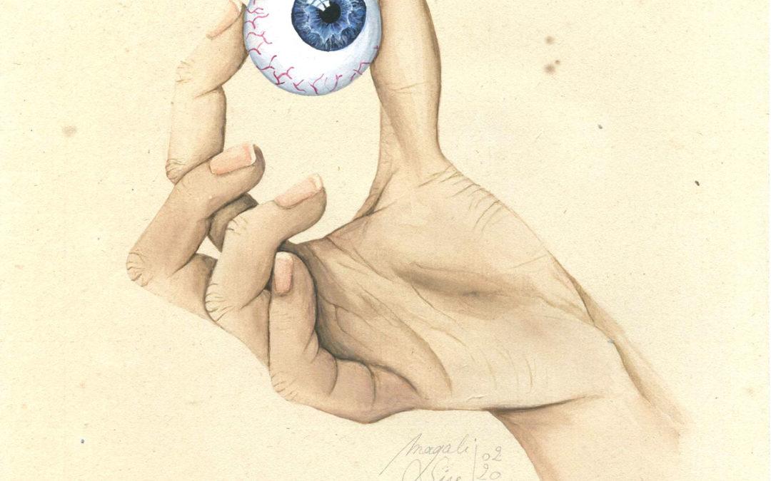 Entre 4 yeux - III | 2020 15 x 15 cm
