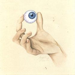 Entre 4 yeux – III | 2020 <br/>15 x 15 cm