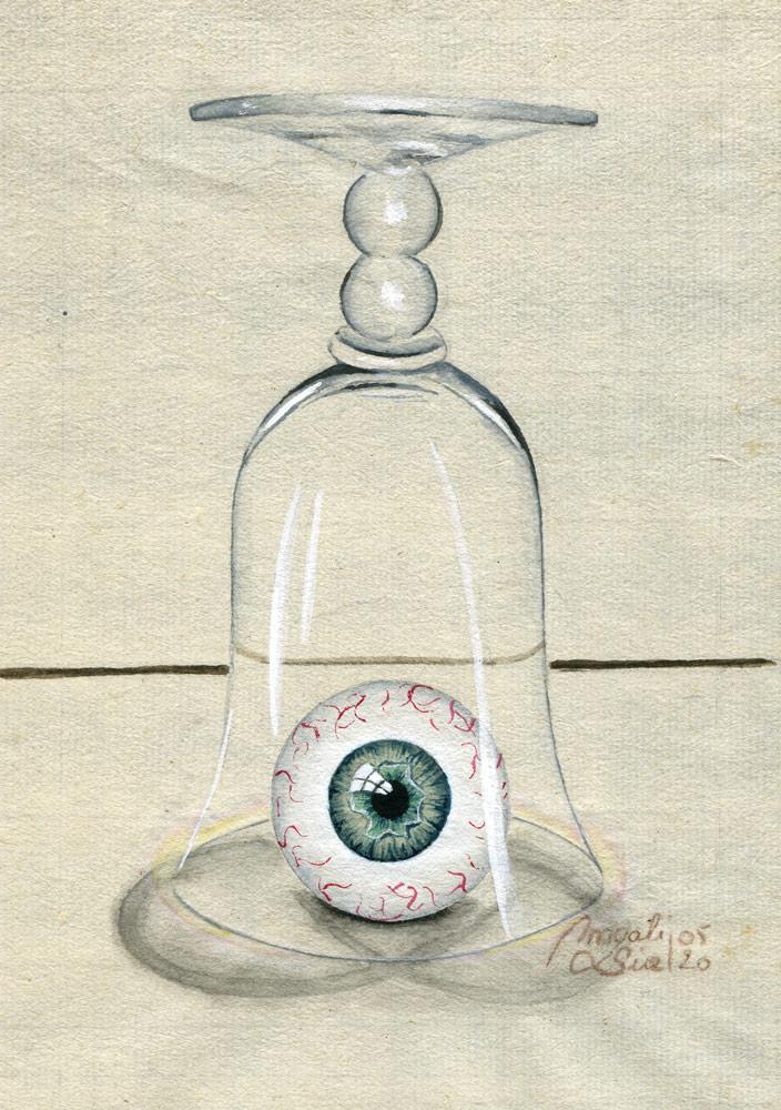 Sous-verre II | 2020 13.5 x 8.5 cm