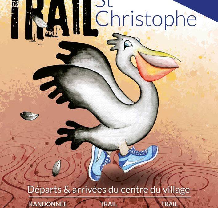 Affiche trail st-christophe