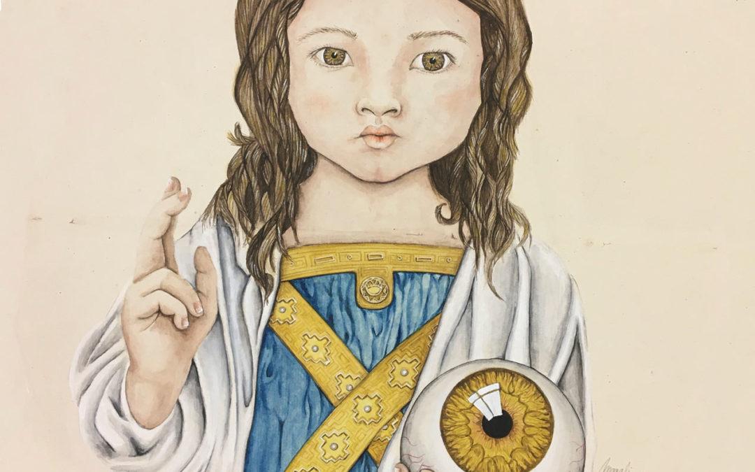 La fille de Dieu | 2021 - 38 x 32 cm